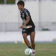 Escalação: com Cesinha como novidade, Botafogo terá metade do time sub-20 contra Palmeiras
