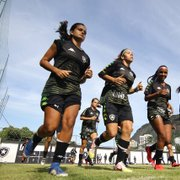 VÍDEO: Botafogo encerra preparação para final do Brasileiro Feminino A-2 contra Napoli