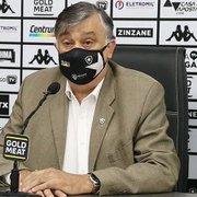 Botafogo precisa trabalhar para poste  não fazer xixi no cachorro