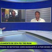 Petkovic: 'O Botafogo não merece, é muito grande, mas esse ano errou tudo que fez'