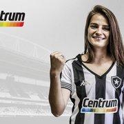 Em apoio ao futebol feminino, Centrum assume patrocínio master na camisa do Botafogo na final do Brasileiro A2