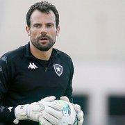 Retorno de Cavalieri pode aumentar disputa com Diego Loureiro no gol do Botafogo