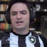 Felipe Neto se revolta com dois jogadores e técnico no Botafogo: 'Fora, Chamusca. Paneleiro maldito'