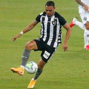 Jornalista: Grêmio não tem interesse em renovar com Luiz Fernando, emprestado pelo Botafogo