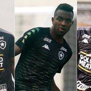 Botafogo comunica que Rentería, Kelvin e Helerson não atuam mais no Brasileiro