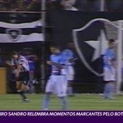 VÍDEO: Sandro relembra Caio Martins e volta do Botafogo à elite em 2003