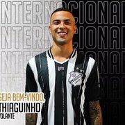 (OFF) Devolvido ao Corinthians pelo Botafogo em março, Thiaguinho é emprestado à Inter de Limeira
