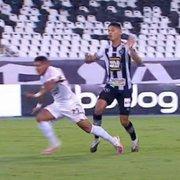 Cadê o VAR? Botafogo é garfado com pênalti inexistente até na penúltima rodada contra São Paulo