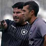 Técnico com melhor aproveitamento do Botafogo no Brasileiro, Lazaroni avalia passagem e pede tempo a Barroca