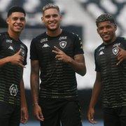 Da França, Luis Henrique, ex-Botafogo, vibra com gol de Navarro sobre o Palmeiras: 'Que chapada'