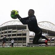 Andrew se desculpa por atraso em treino no Botafogo: 'Vou levar como aprendizado para não repetir'