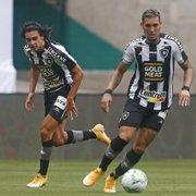 Apenas com centroavantes da base, Botafogo se vê com mais uma lacuna no elenco
