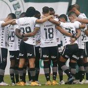 Com dificuldade para jogar atrás do placar, Botafogo conseguiu apenas duas viradas no Brasileirão