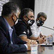 Série B, base, montagem de elenco, torcida e estrutura: leia outras declarações da apresentação de Chamusca no Botafogo