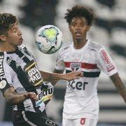 Fica ou sai? Com sondagens, Bruno Nazário terá futuro definido por Chamusca no Botafogo