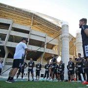 Chamusca comanda primeiro treino no Botafogo; Zé Welison e Rafael Forster voltam; veja fotos