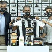 Marcelo Chamusca é apresentado no Botafogo: 'Estou feliz, motivado e consciente do desafio. Objetivo principal é o acesso'