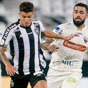 Antes dado como certo no América-MG, Bruno Nazário, do Botafogo, pode fechar com o Fortaleza