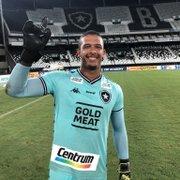 Diego Loureiro se inspira em Gatito e Cavalieri no Botafogo: 'Trabalhei para esse momento'