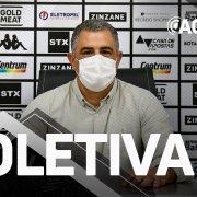 VÍDEO AO VIVO: Marcelo Chamusca é apresentado como novo técnico do Botafogo