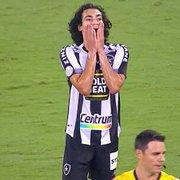 Matheus Nascimento só precisa do primeiro gol pelo Botafogo