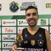 Basquete: Paulinho Boracini faz duplo-duplo, e Botafogo vence Vila Nova/AEGB