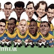 Com cinco do Botafogo, revista elege Seleção Brasileira de todos os tempos
