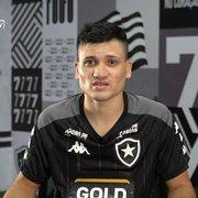 Ronald fala pela primeira vez como atleta do Botafogo e mostra credenciais: 'Velocidade, drible e ser finalizador'