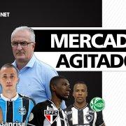 Resumo do dia | Botafogo encaminha acerto com volante do Grêmio; atacante do Coritiba interessa ao clube