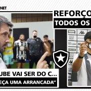 Botafogo vira a chave para 2021: reforços para todos os setores e motivação para reconstrução do clube