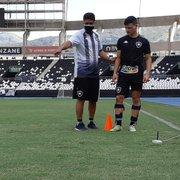 Tecnologia: Botafogo faz avaliações de medida de pressão nos pés dos jogadores