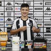 Ronald é apresentado oficialmente pelo Botafogo: 'Espero marcar minha história aqui'