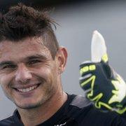 Sem levar gols no Botafogo, Douglas Borges admite: 'Sei que é grande a pressão'