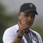 Chamusca admite possibilidade de perder Marcelo Benevenuto, Kanu e Matheus Babi no Botafogo