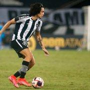 Dodô vê 'muito potencial' em Matheus Nascimento e dá conselhos para brilhar no Botafogo