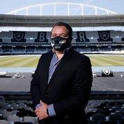 Interferências do CEO geram atritos no futebol do Botafogo e podem atrasar negociações
