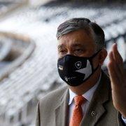 Durcesio Mello pede presença da torcida do Botafogo em jogo da volta do público: 'Vamos ajudar o time'