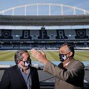 Botafogo projeta prejuízo de R$ 20,6 milhões e receber R$ 73 milhões em vendas de jogadores em 2021