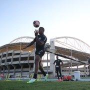 Botafogo atualiza situação do DM: Luiz Otávio tem entorse, e Guilherme Santos passa por exames