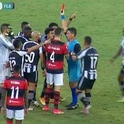 Chamusca elogia Flamengo, mas critica arbitragem: 'Botafogo foi muito prejudicado'