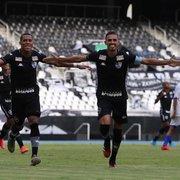 Botafogo goleia Castelo por 10 a 0 na estreia na Copa do Brasil Sub-20