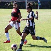 Futebol feminino: Botafogo perde para o Flamengo e sofre a primeira derrota no Carioca