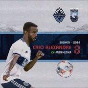 Vancouver Whitecaps anuncia contratação de Caio Alexandre, do Botafogo