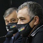 Pressão interna por mudanças é grande no Botafogo após mais uma derrota na Série B