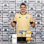 Douglas Borges é apresentado no Botafogo, revela inspiração em Fábio e promete: 'Vou dar minha vida por esse clube'