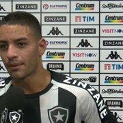 Felipe Ferreira faz cobrança no Botafogo: 'Uma coisa é perder, outra é não ter atitude'