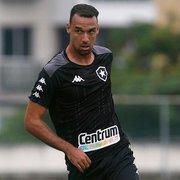 Capitão, Gilvan fala sobre nova postura contra o Nova Iguaçu: 'Para jogar no Botafogo, tem que ter vontade'