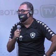 Gláucio diz que Botafogo ainda busca reforços para o time feminino e lamenta saída de Caio Alexandre
