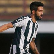 Em busca do quarto acesso à Série A, Jonathan celebra volta aos jogos do Botafogo: 'No caminho certo'