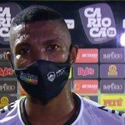 Kanu revela sentimento de tristeza com empate do Botafogo e lamenta erros nos contra-ataques